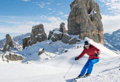 Ski tours by lifts